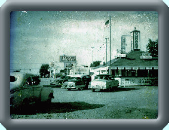Picture of the old Blue Top Drive-in from the fifties. Look at the old cars loooking North along US41